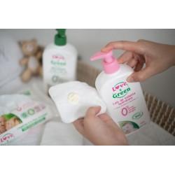 Lait nettoyant bébé - bébé bio Love & Green