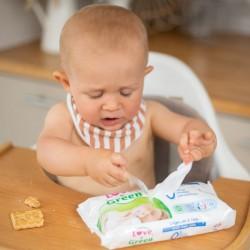 Lingettes bébé écologique - A l'eau - Love & Green