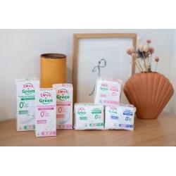 Gamme d'hygiène féminine écologique - Love & Green