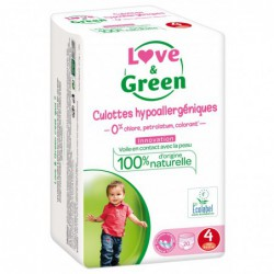 Couche-culottes écologique - Love & Green