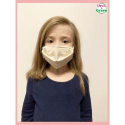 Masque lavable pour enfant - Coton bio certifié
