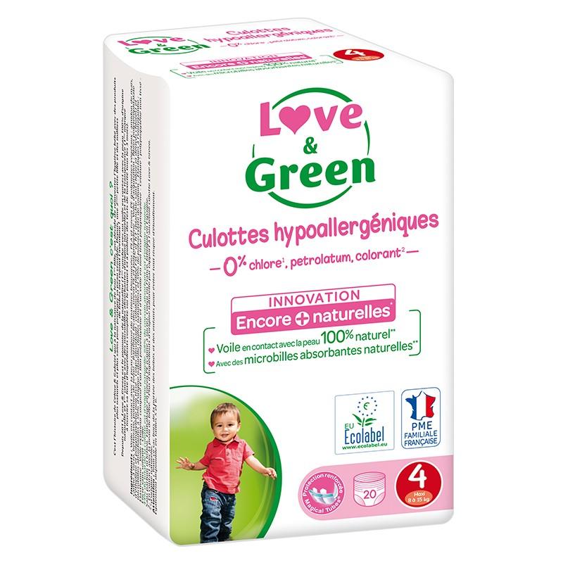 Couches culottes écologiques - Love & Green