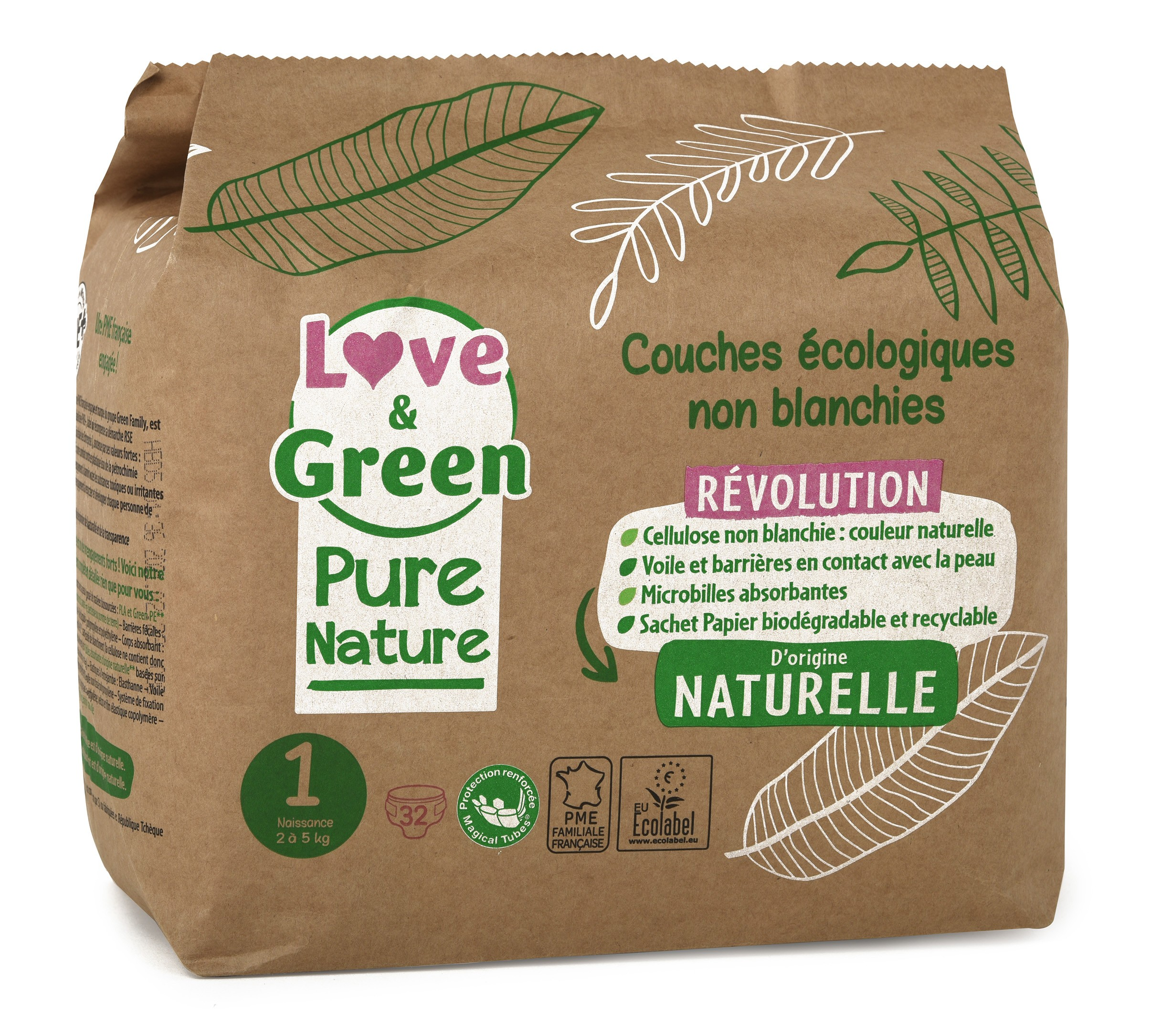 PURE NATURE ECOLOGICAL NAPPIES