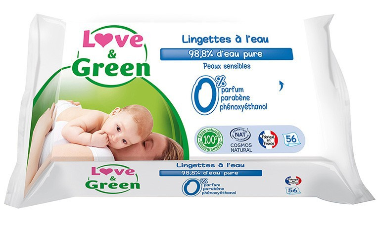 WATER ECO WIPES