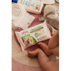 Lingettes au liniment   Lingettes bébé Love & Green