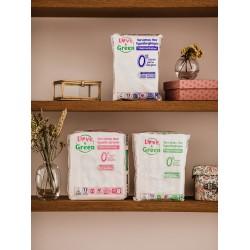 Serviettes Maxi Super - serviettes hygiéniques écologiques Love & Green