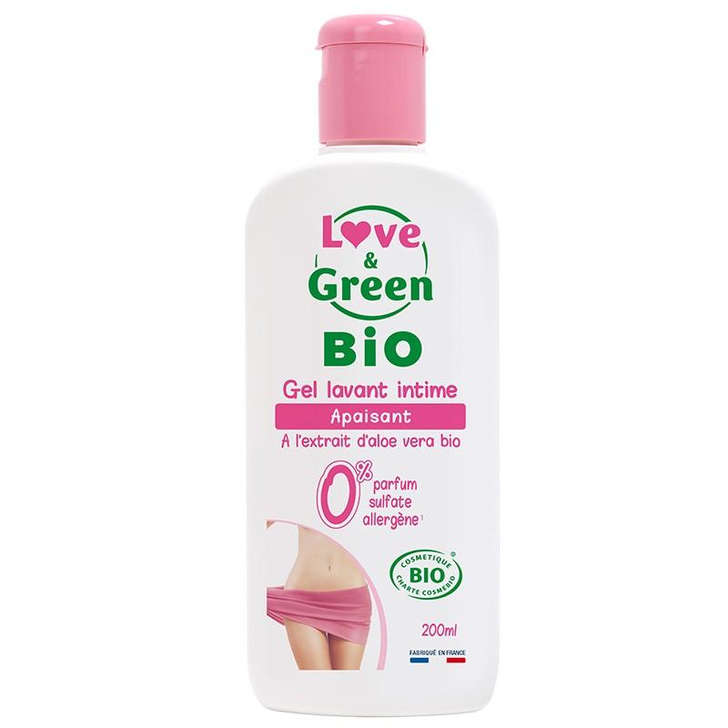 Gel lavant intime certifié BIO - Love & Green - Apaisant