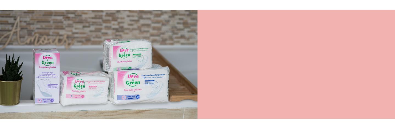 Serviettes pour fuites urinaires