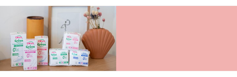 Eco sanitary pads