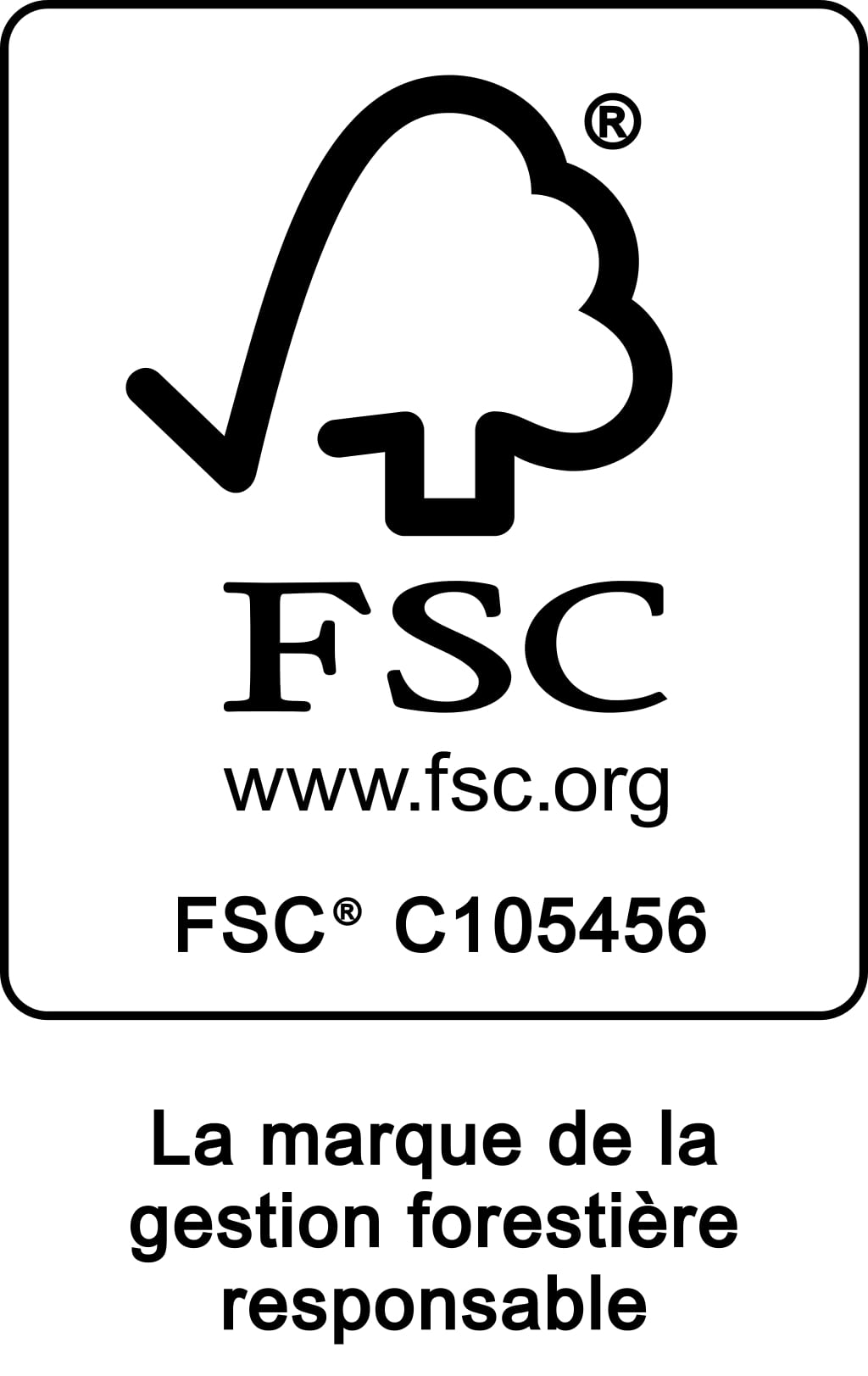 Logo de certification FSC